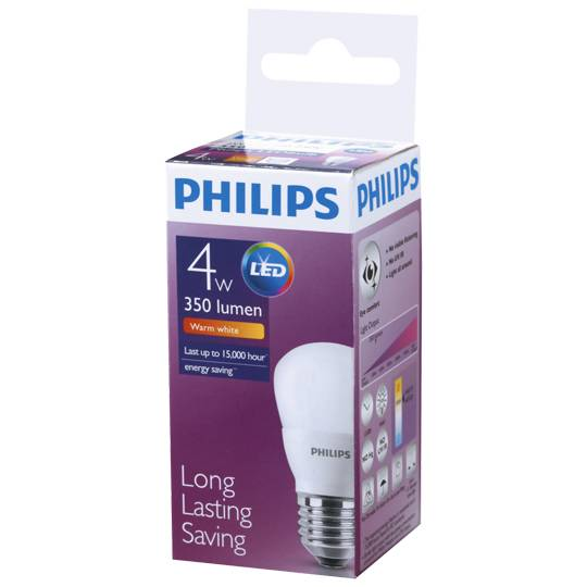 Philips Led 350lm E27 3000k P45