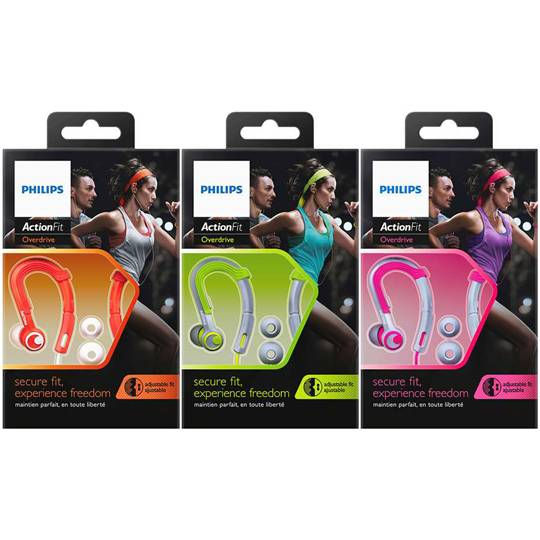Phillips Actionfit Sports Ear Hooks Action