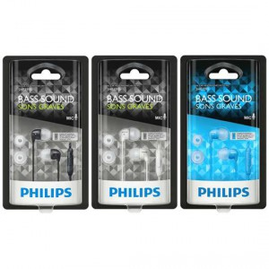 Phillips In Ear Gels With Mic