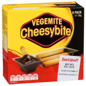Snackabouts Snack Vegemite Cheesybite