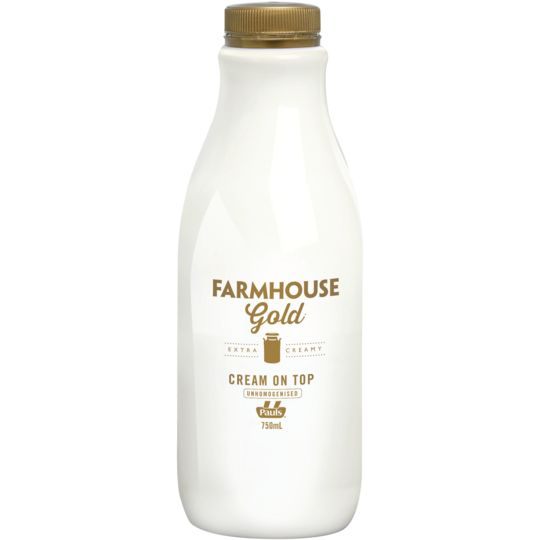 Amethyst06 reviewed Paul's Farmhouse Gold Full Cream Milk Unhomogenised