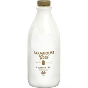 Paul's Farmhouse Gold Full Cream Milk Unhomogenised