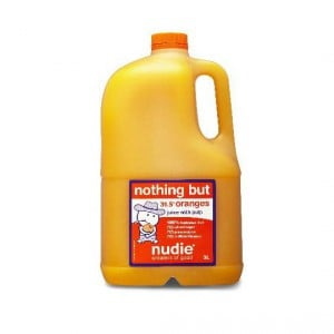 Nudie Nothing But Orange Juice