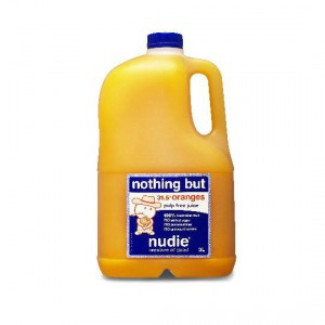 Nudie Nothing But Orange Juice Pulp Free