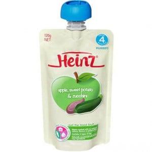 Heinz Pouch Apple, Sweet Pot & Zucchini