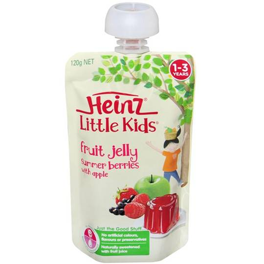 mom70876 reviewed Heinz Jelly Pouch Summer Berry & Apple