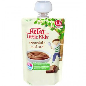 Heinz Dairy Snack Pouch Chocolate Custard