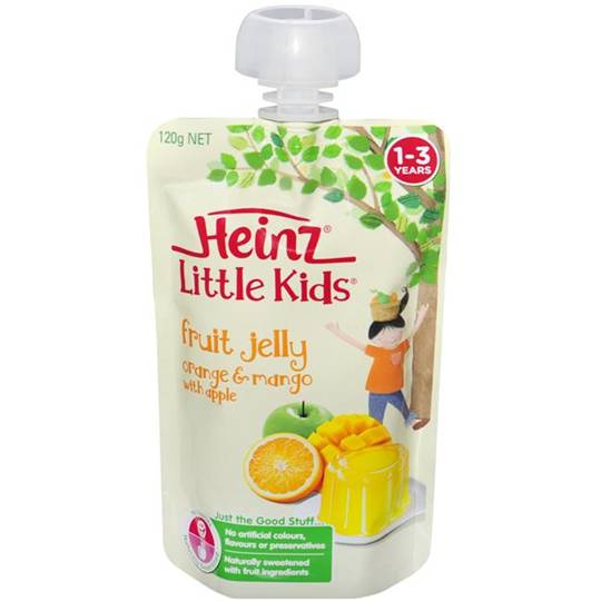 Heinz Jelly Pouch Mango & Apple