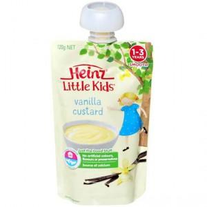 Heinz Dairy Snack Pouch Vanilla Custard