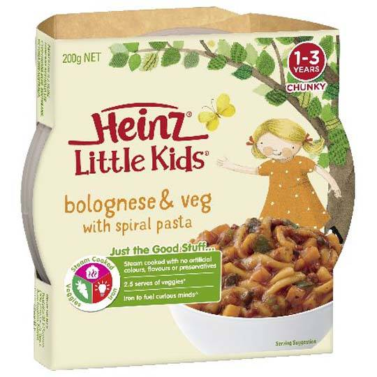 Heinz Little Kids Pasta Bolognaise