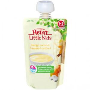 Heinz Dairy Snack Pouch Mango & Coconut Custard