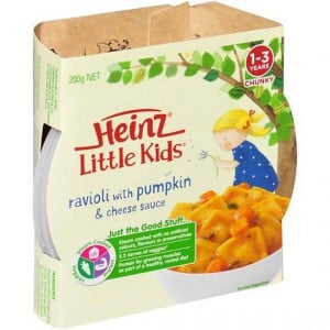 Heinz Little Kids Pumpkin And Cheese
