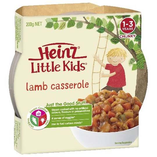 Heinz Little Kids Lamb Casserole & Spud