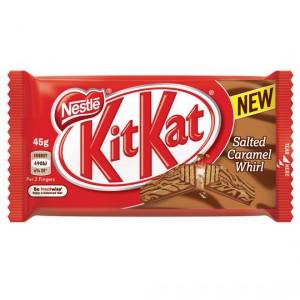 Nestle Kit Kat Salted Caramel Whirl
