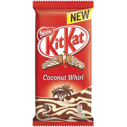Nestle Kit Kat Coconut Whirl