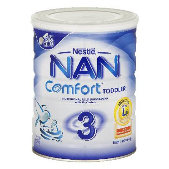Nestle Nan Comfort Toddler Formula Stage 3 2 Years+