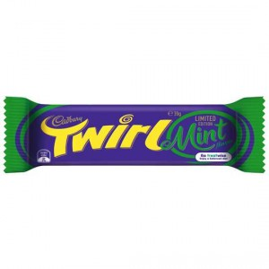 Cadbury Twirl Mint