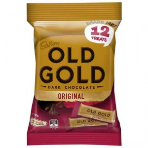 Cadbury Old Gold Dark Chocolate Sharepack