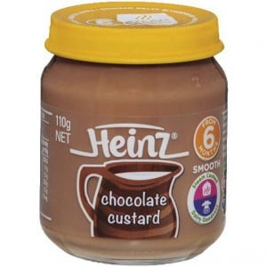 Heinz Chocolate Custard Jar