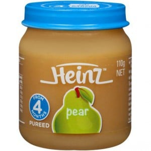 Heinz Fruity Pear Jar