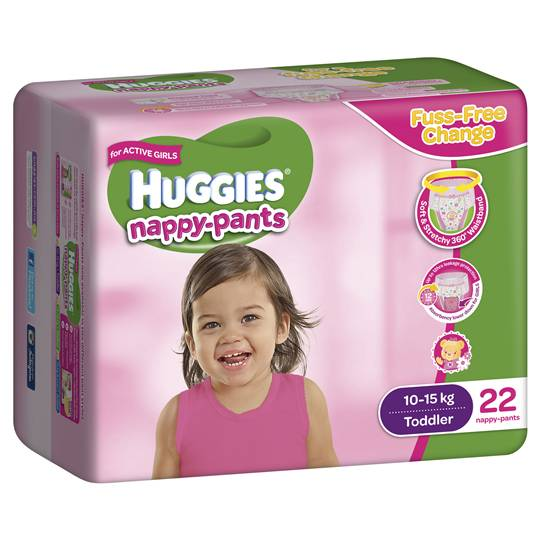 Huggies Nappy Pants Toddler For Girls