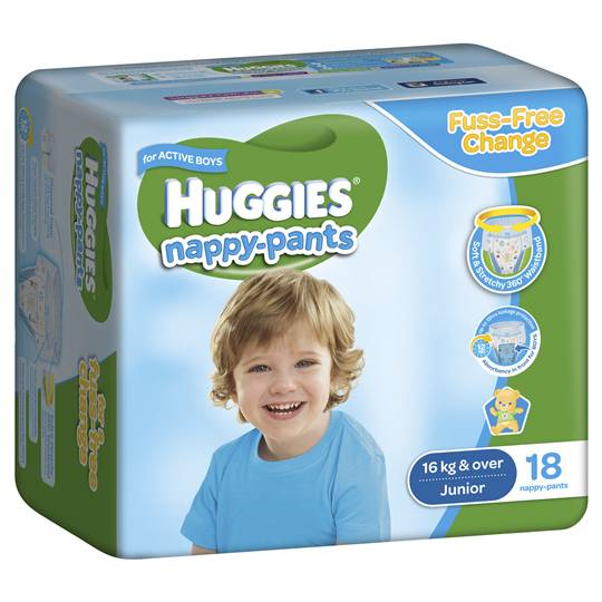 Huggies Nappy Pants Junior For Boys