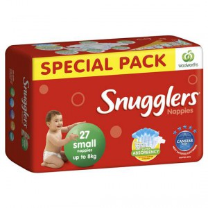 Snugglers Bulk Nappy Small