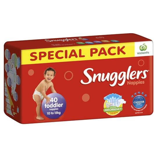 Snugglers Bulk Nappy Toddler