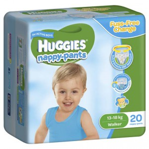 Huggies Nappy Pants Walker For Boys