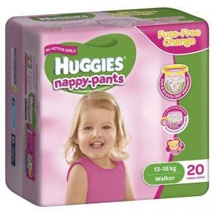 Huggies Nappy Pants Walker For Girls