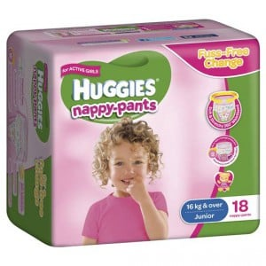 Huggies Nappy Pants Junior For Girls