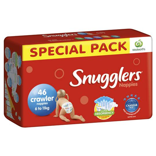 Simone reviewed Snugglers Bulk Nappy Crawler