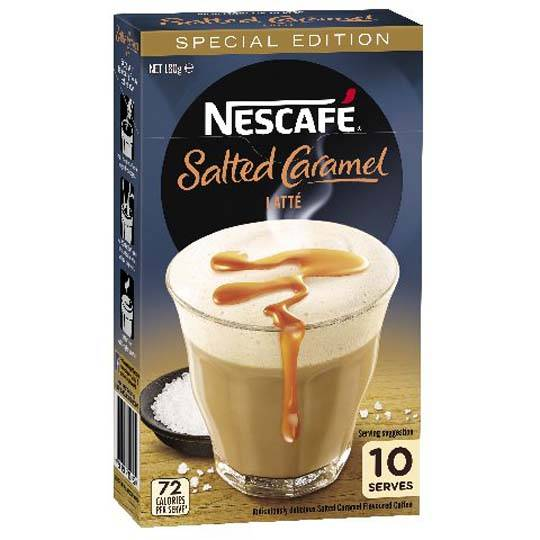 Nescafe Cafe Menu Salted Caramel