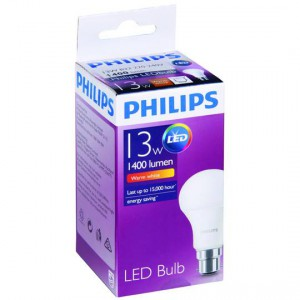 Philips Led 13w 1400 Lumen Warm Bc