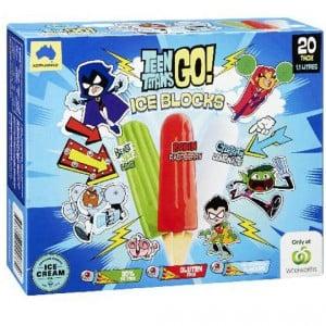 Teen Titans Go Ice Blocks