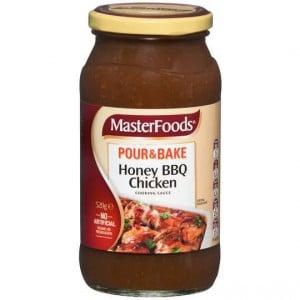 Masterfoods Simmer Sauce Honey Bbq