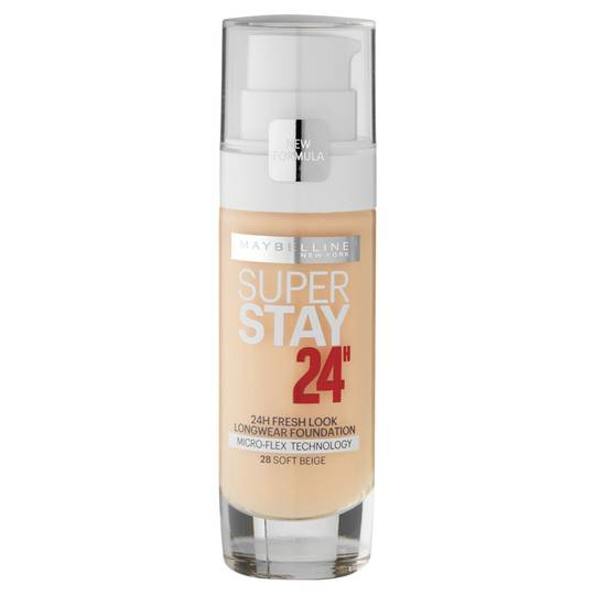 Maybelline New York Super Stay 24 Hour Foundation True Ivory