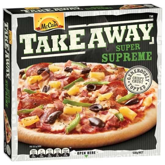 Mccain Pizza Take Away Supreme