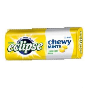 Wrigley's Eclipse Chewy Mints Lemon Lime