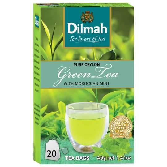 Dilmah Green Tea Morrocan Mint