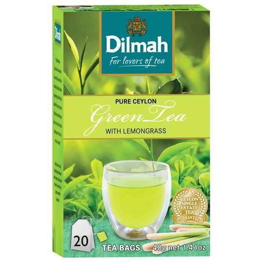Dilmah Green Tea Lemongrass