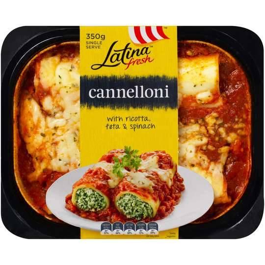 Latina Cannelloni Ricotta & Spinach