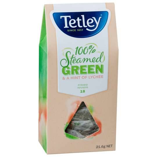 Tetley Pyramid Infused Green Lychee