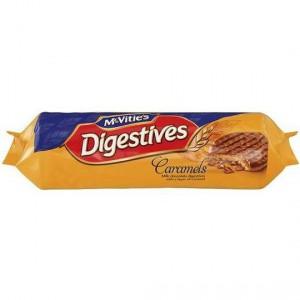 Mcvities Digestives Biscuit Choc Caramel