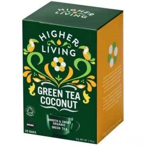 Higher Living Organic Green Tea Coconut