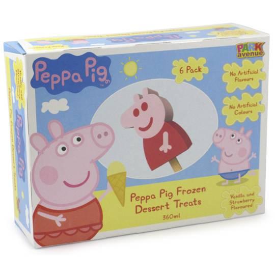 Peppa Pig Ice Cream Strawberry