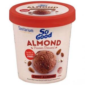 Sanitarium So Good Bliss Ice Cream Choc Almond