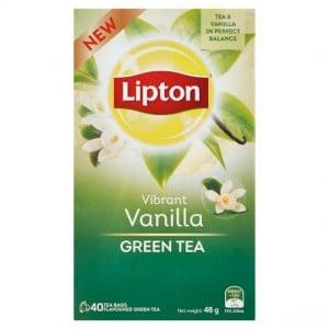 Lipton Green Tea Vibrant Vanilla