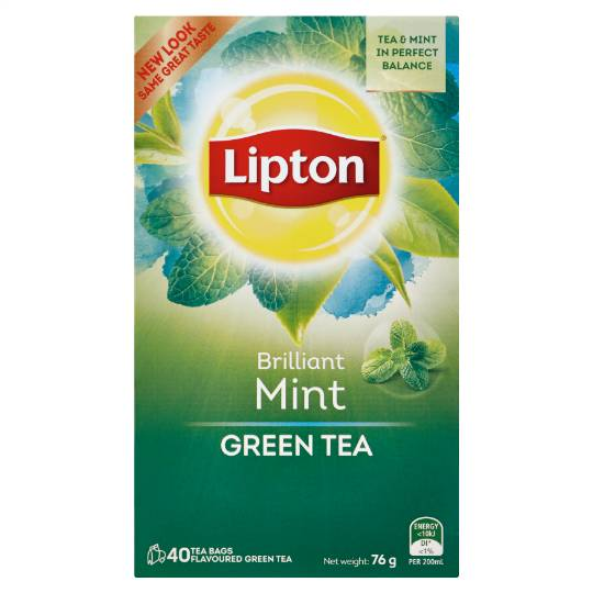 Lipton Green Tea Brilliant Mint