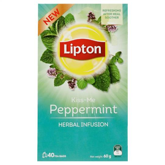 Lipton Herbal Tea Kiss Me Peppermint